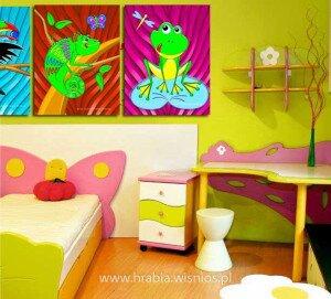 żabka-kameleon