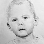 Kubuś – portret ołówkiem