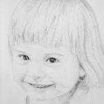 Amelia – portret ołówkiem