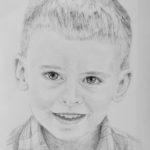 Filip – portret ołówkiem