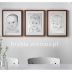 Portrety w ramie – prezent na dzień babci i dziadka