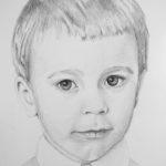 Leoś – portret ołówkiem